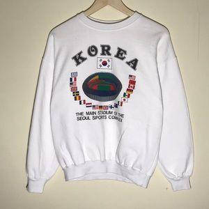 Vintage 1980s Korea Sweatshirt